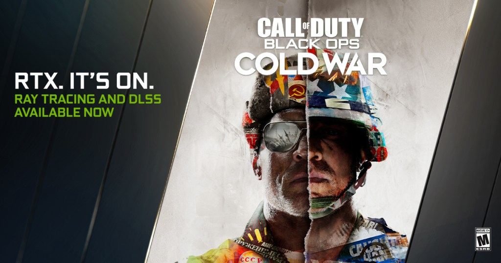 Call of Duty Black Ops Cold War supports ray traced lighting and DLSS.